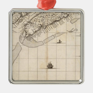 A Map of the British Empire in America Sheet 7 Christmas Ornament