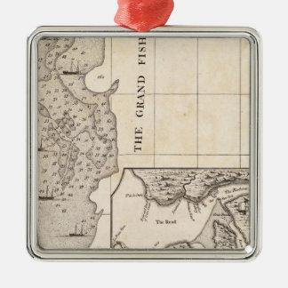 A Map of the British Empire in America Sheet 8 Christmas Ornament