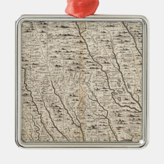 A Map of the British Empire in America Sheet 9 Christmas Ornament