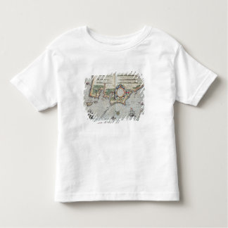 A Map of the coastline of Brittany, 1588 Toddler T-Shirt