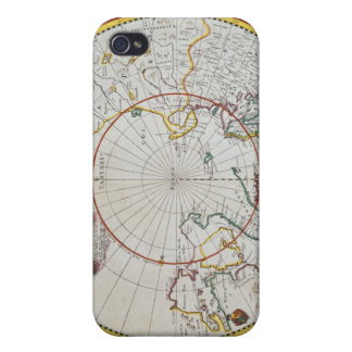 A Map of the North Pole iPhone 4 Covers