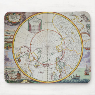 A Map of the North Pole Mouse Mat