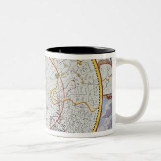 A Map of the North Pole Two-Tone Coffee Mug