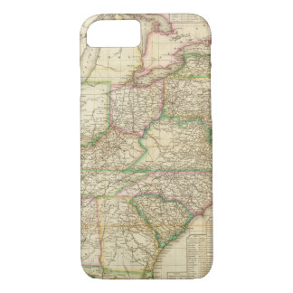 A Map Of The Roads, Canals And Steam Boat iPhone 8/7 Case
