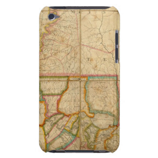 A Map of the State of Louisiana Barely There iPod Covers