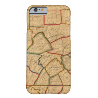 A Map Of The State Of Pennsylvania Barely There iPhone 6 Case