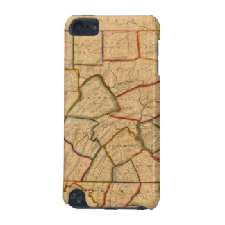 A Map Of The State Of Pennsylvania iPod Touch (5th Generation) Case