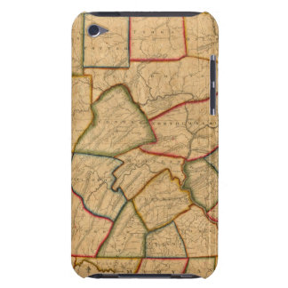 A Map Of The State Of Pennsylvania iPod Touch Covers
