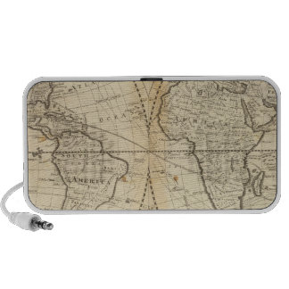 A Map of the World Travel Speaker