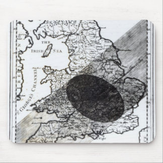 A Map Showing the Passage of  Shadow of the Moon Mouse Pad