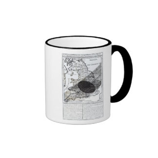 A Map Showing the Passage of  Shadow of the Moon Coffee Mug