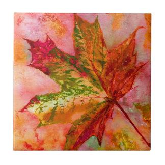 A Maple Leaf. Tile