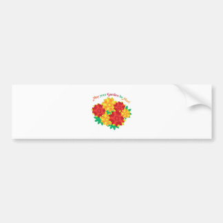 A Mari Garden Bumper Sticker