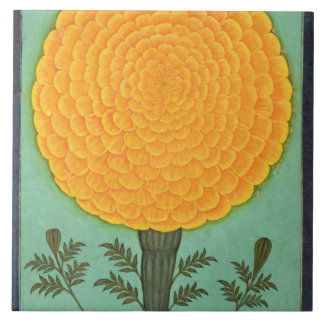 A Marigold, from the Small Clive Album (w/c on pap Large Square Tile