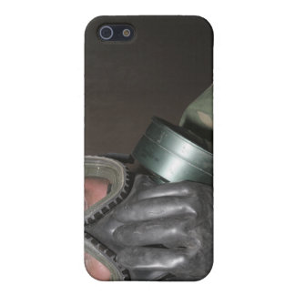 A Marine clears his gas mask iPhone 5/5S Cover