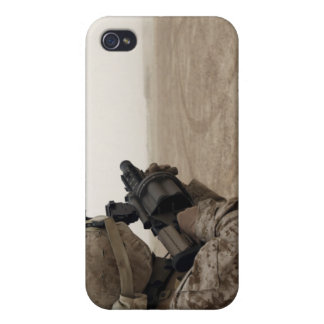 A Marine fires the M-32 iPhone 4/4S Covers