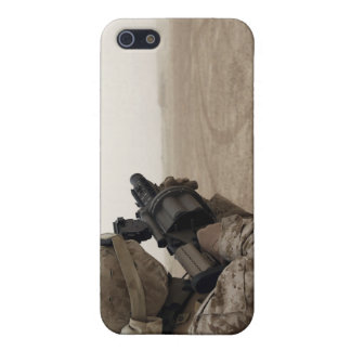 A Marine fires the M-32 iPhone 5 Cover