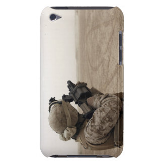 A Marine fires the M-32 iPod Touch Covers