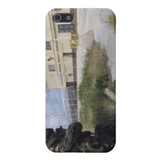 A Marine posts security iPhone 5 Case