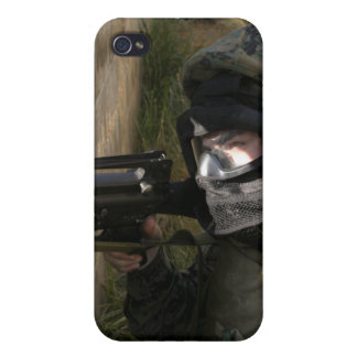 A Marine provides security Case For The iPhone 4