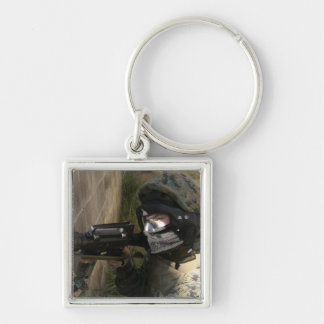 A Marine provides security Key Ring