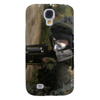 A Marine provides security Samsung Galaxy S4 Cover
