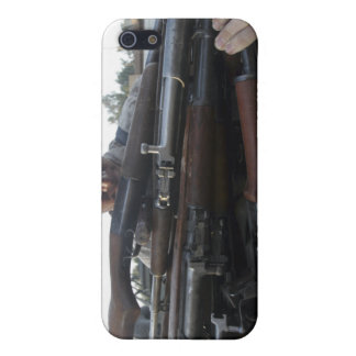 A marine readies 80 pounds of enemy rifles seiz iPhone 5 covers