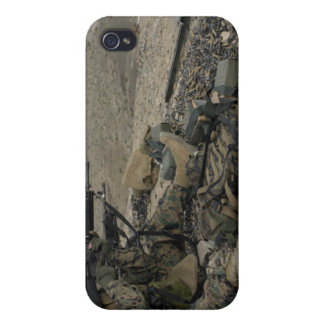 A Marine rifleman provides security Case For iPhone 4
