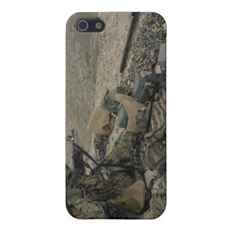 A Marine rifleman provides security Case For iPhone 5/5S