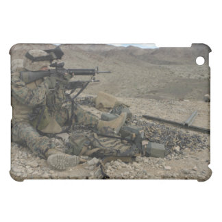 A Marine rifleman provides security Case For The iPad Mini