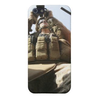 A marine rocks his M-2 50-caliber machine gun iPhone 5/5S Cover
