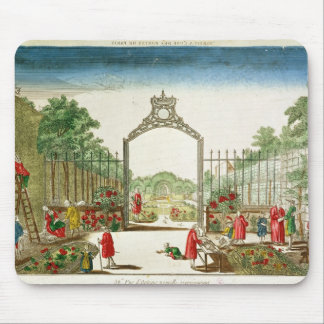 A Market Garden at One of the Gates of Paris Mouse Pad