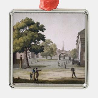 A market square, Philadelphia, Pennsylvania, from Christmas Ornament