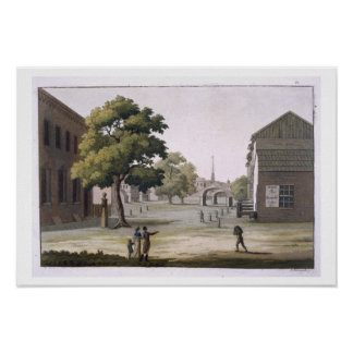 A market square, Philadelphia, Pennsylvania, from Poster