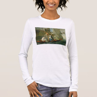 A Married Sailor's Adieu, c.1800 (oil on panel) Long Sleeve T-Shirt