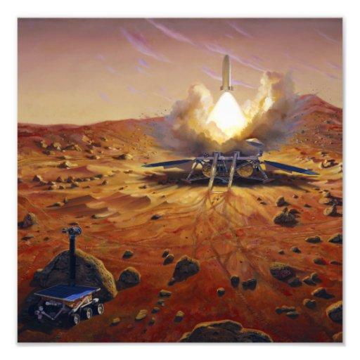 A Mars ascent vehicle 2 Art Photo