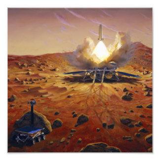 A Mars ascent vehicle 2 Photo Print