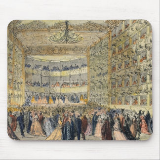 A Masked Ball at the Fenice Theatre, Venice, 19th Mouse Pad
