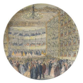 A Masked Ball at the Fenice Theatre, Venice, 19th Plate