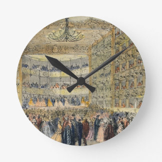 A Masked Ball at the Fenice Theatre, Venice, 19th Round Clock