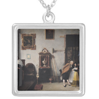 A Mass in Spain Silver Plated Necklace