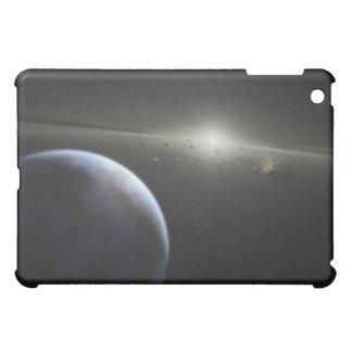 A massive asteroid belt in orbit around a star iPad mini covers