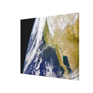 A massive low pressure system canvas print
