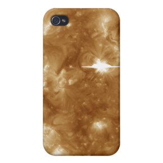 A massive X-class solar flare erupts on the Sun iPhone 4/4S Cases