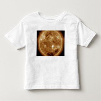 A massive X-class solar flare erupts on the Sun Toddler T-Shirt