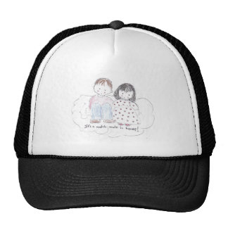 A Match Made in Heaven Hats