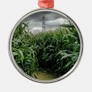 A maze of maize christmas ornament