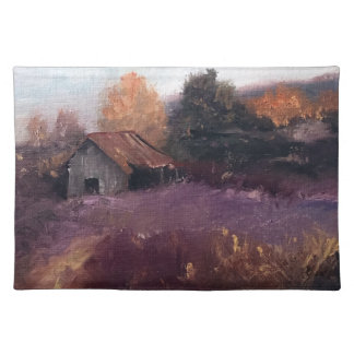 A measure of time Barn Landscape place Mat