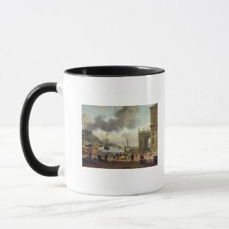 A Mediterranean Harbour Scene Mug