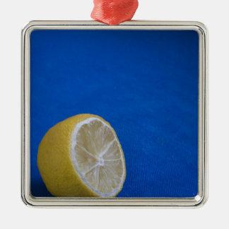 A Mediterranean Lemon Christmas Ornament